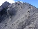 A megmaradt kráterfal